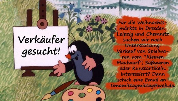 Verkäufer -innen für Dresdner Weihnachtsmarkt