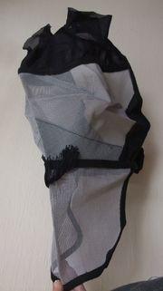 Fliegenmaske Fliegenhaube inkl Nasenschutz Warmblut