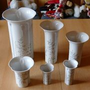 6 Vasen von Arzberg Motiv