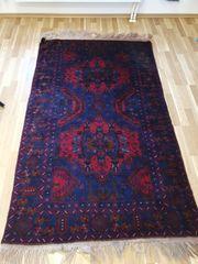 Afghanische teppich handgewebt