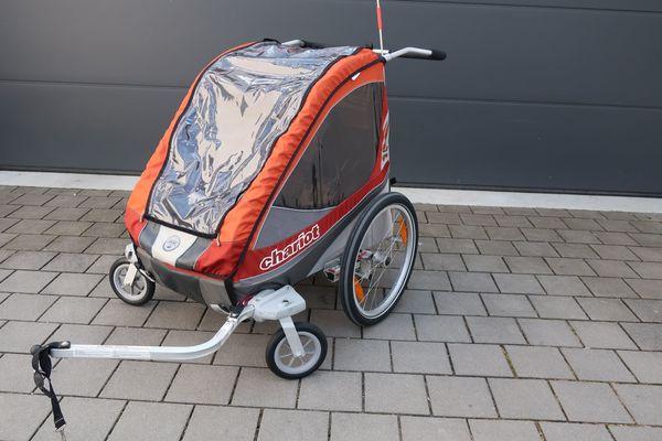 Chariot Corsaire2 Fahrradanhänger Buggy 2-Sitzer