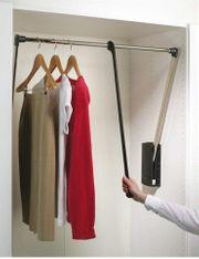 Kleiderlift ausschwenkbare Kleiderstange
