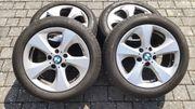 Sommerreifen auf Felgen BMW X1