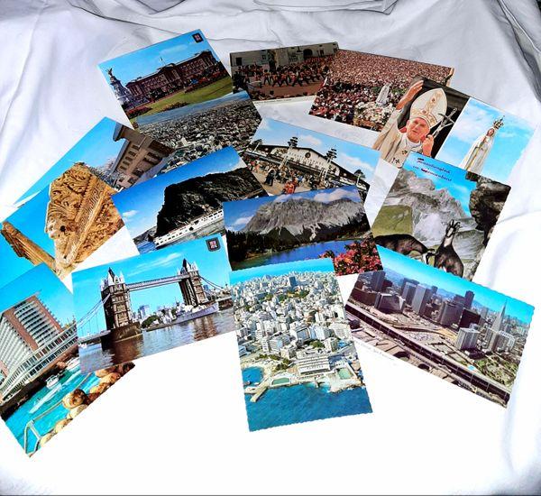 Postkarten weltweit