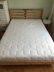 Ikea Doppelbett Tarva mit Lattenrost