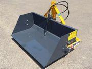 DELEKS PRI-120-L hydrauische Heckschaufel mit