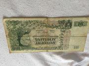 100 Schilling Banknote 1954 zu