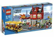 LEGO City Stadtviertel mit Bus