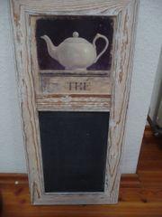 Kreidetafel aus Holz