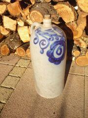Krug Keramik Gefäß Elsaß Steinzeug