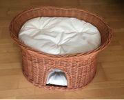 Katzenkorb Katzenbett mit Kuschelhöhle und