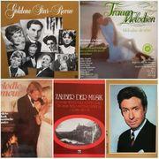 5 Vinyl-Schallplatten-Boxen 15 LPs aus