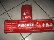 Erste Hilfe Kombi-Tasche Warndreieck Verband-Stoff