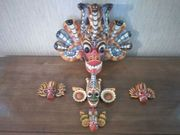 Holzmasken aus Sri Lanka