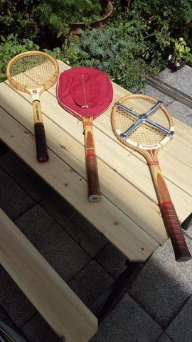 Tennis, Tischtennis, Squash, Badminton - Retro - Tennis-Equipment aus den 1960ern