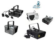 Nebelmaschinen mieten - verschiedene Maschinen passend