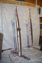 Langlaufski inkl Stöcken Ski 200
