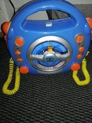 Kinder-CD-Player mit Mikrofon