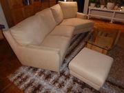 Couch sandfarben