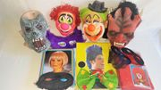 Faschings - Masken - Perücken - Kostüme - Frauen