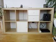 Ikea Regal Buchenoptik