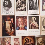 Religiöse Bildchen - Antiquität - für Sammler