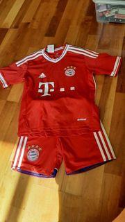 FC Bayern Fußball Trikot Gr