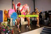Sambashow Brasil-Show Brasilianische Sambatänzerinnen Capoeira