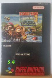 Nintendo NES Spieleanleitungen
