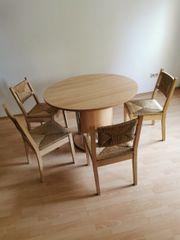 Esstisch mit 4 korbstühle gute