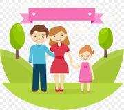 3-köpfige Familie sucht zum 01