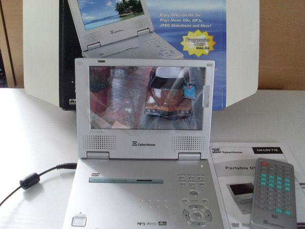 Tragbarer DVD-Player Cyberhome Codefree Puffer