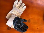 Arbeit Handschuhe