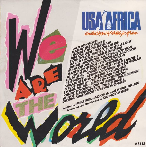 USA for Africa We are