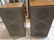 2 Lautsprecher aus Holz Oldschool