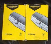 2x Solar Motion Solarlampen für