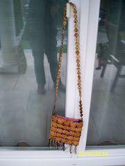 Holz - Umhänge Tasche 5 - bitte