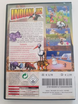 PC Gaming Sonstiges - PC DVD-Rom Spiel Indiana Jack