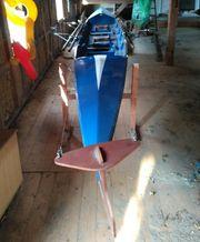 Ruderboot Sportboot Zweier mit Steuermann