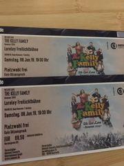 2 Tickets The Kelly Family