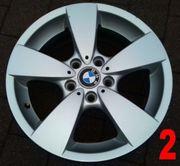 1x 17 BMW Alufelge Sternspeiche