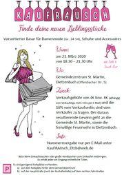 kauFRAUsch - Vors Basar für Frauenbekleidung