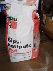 Haftputz-Gips