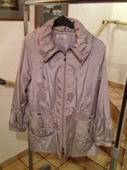 Mantel-Jacke modern in grau Gr