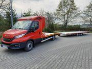 Auto Transport Abschleppdienst Übefahrung