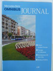 Omnibus Journal Mercedes Benz verschiedene