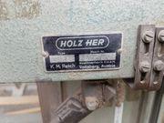 Holz HER Type 1211 Plattensäge -