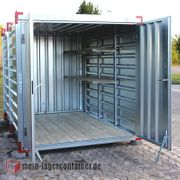10x2x2m Reifenlager Materialcontainer Lagercontainer Container
