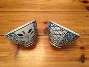 Zwei Tee-Schalen im zarten Stil