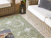 Outdoor Teppich olivgrün 120 x